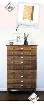 ikea tarva dresser hack. Diy Ikea Tarva Hack Apothecary Westelm Anthropologie Furniture Dupetitdoux Dresser E