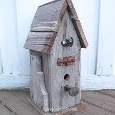 s wood birdhouse