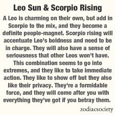 Leo And Scorpio Compatibility Chart Andrew Is A Scorpio And Maddie Is A Leo Look Out World