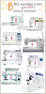 Sew at Home Mummy: Looking for a larger sized sewing machine? 8 ... & larger harped sewing machines great for quilters. Nice and big for all of  those large Adamdwight.com