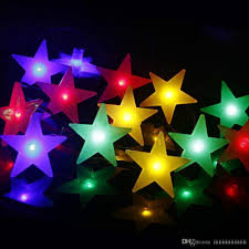 Batteries For Solar Christmas Lights Led Solar Battery Frosted Star String Lights 2019 New Holiday Lights Christmas Lights Party Party Set Wholesale Christmas Decoration For Sale