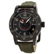 burberry men s watches sears burberry gmt green nylon mens watch bu7855