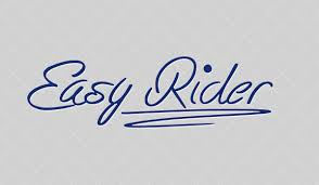 free hand written font easy rider