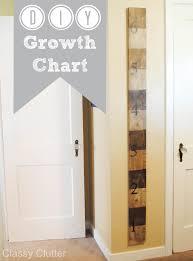 Diy Wooden Growth Chart Tutorial Classy Clutter