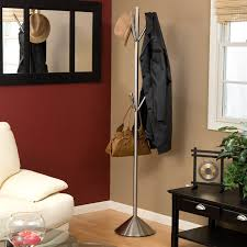 Adesso Umbrella Stand And Coat Rack Adesso Pegs Stainless Steel Standing Coat Rack Hayneedle 16