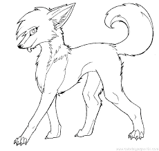 Fox And Wolf Coloring Pages Hard To Print Fun For Kids