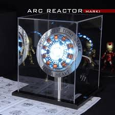 Iron Man Chest Light Diy Us 30 0 Avenger 1 1 Iron Man Arc Reactor Action Figure Mk1 Ironman Reactor Tony Stark Arc Reactor Diy Parts Model Toys With Led Light In Figurines