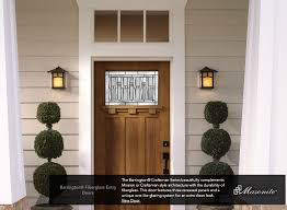 mission style front doorInterior and Exterior Doors and Trim  Building Materials Inc