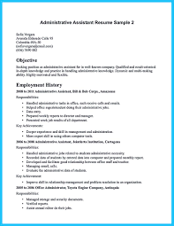 Resume For Administration Job If You Seek A Job For Administrative Position You Need To Fulfill 16