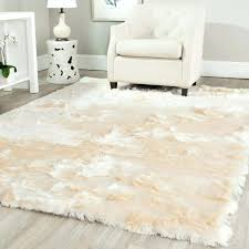 medium size of white fur area rug white fur area rug black and white fur