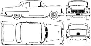 1955 Chevy Bel Air Blueprints | Chevy's 55-57 | Pinterest | Bel ...