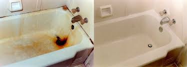 bathtub refinish before after