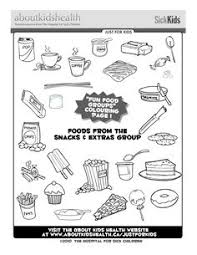 Small Picture Foods from the meat and protein food group Great colouring