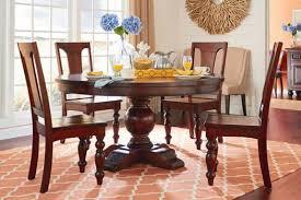 sturbridge solid wood round dining set 5 piece