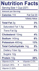 Great Value Light Vanilla Greek Yogurt Nutrition Facts Smooth Creamy Lowfat Plain 32oz Stonyfield