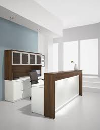 reception office desks. Reception Desk With Credenza And Glass Door Hutch Office Desks