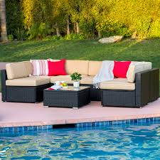 Outdoor wicker furniture Historical yet contemporary