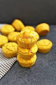 Gluten Free Pumpkin Cornbread Muffins One Lovely Life