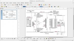 free and open source alternatives to visio   opensource comscreenshot of libreoffice draw opening up a visio vsd diagram