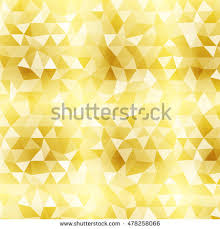 abstract geometric background gold color transparent stock vector  polygon background yellow gold color vector illustration square banner to implement your design
