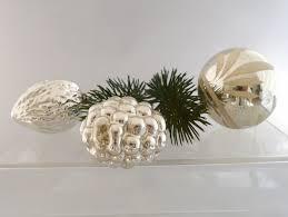 Alter Weihnachtsschmuck Ein Set 3 Alte Christbaumkugeln