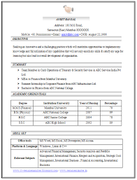Formal Resume Format resume format doc formal letter gcse sample     toubiafrance com