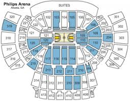 Atlanta Arena Seating Chart Atlanta Hawks Tickets Seating Chart Best Picture Of Chart