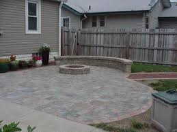 paver patio with gas fire pit.  Pit Hessit Roman Tumbled Allegheny Paver Patio Natural Gas Fire Pit And  Belgard Weston Seating Wall Intended Patio With G