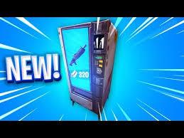 Vending Machine Costs Custom VENDING MACHINES In Fortnite YouTube