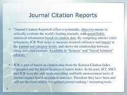 Journal Evaluation And Citation Research Tools Ppt Download