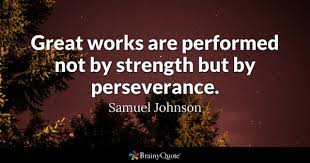 Famous Quotes About Family Unique Perseverance Quotes BrainyQuote