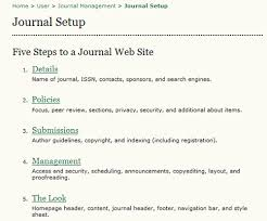 template for submissions to journal 2 journal management pages