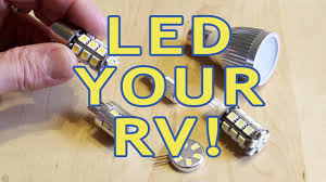 Rv Interior Light Bulb Replacement Converting Rv Lights To Leds Part 1 Incandescent Halogen