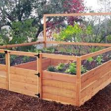 Small Picture removable fencing for your raised beds to keep your seedling safe
