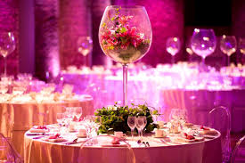 Round Table Decoration Party Wedding Table Decorations With Round Table Be Equipped Glass