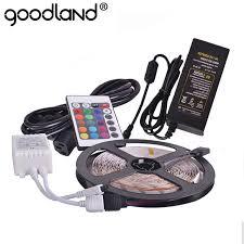 RGB <b>LED Strip Light</b> SMD5050 5m <b>60LED</b>/m <b>Flexible Tape</b> ...