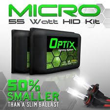 motorcycle hid conversion kit optix 55w hid xenon headlight conversion kit micro slim ballast hi lo fog lights