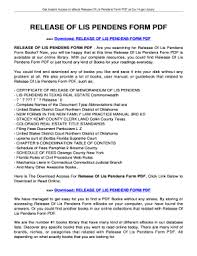 notice to owner form florida discharge of lis pendens florida form fill online printable