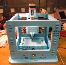 desktop cnc machine. diy snap-together desktop cnc milling machine cnc