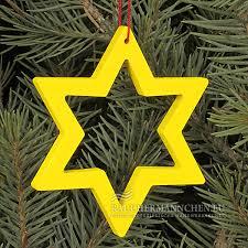 Offen Gelb Baumschmuck Stern Weihnachtsbaumschmuck Online