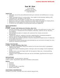 Nursing Sample Resume Family Services Specialist Sample Resume