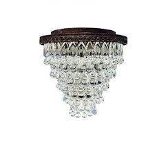 the weston 7 light round glass drop chandelier