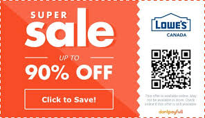 90 off lowe s promo codes