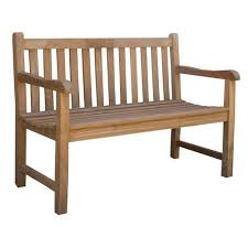 cottage castle classic teak outdoor bench seat reviews temple webster