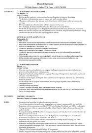 Experienced Software Engineer Resume QA Software Engineer Resume Samples Velvet Jobs 20