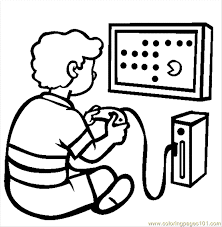 Small Picture 94 The Video Game Console Coloring Page Free Games Coloring