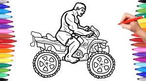Hulk coloring oyununu ücretsiz oynayın ve eğlenin! Hulk Motorcycle Coloring Pages Superheroes Motorbike Bike Coloring Video For Kids Youtube