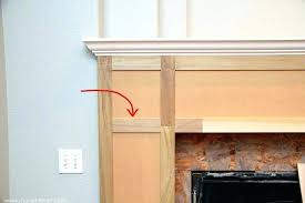 make a fireplace mantel building exquisite design how to build home improvement your own hearth plans build fireplace