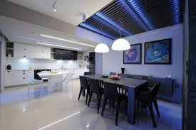 Neon lighting for home Mood View In Gallery Led Neon Kitchen Lighting Decoist 12 Kitchens With Neon Lighting