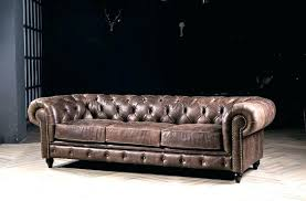 used tage leather couch for style sofa chesterfield with antique genuine in furniture old cleaner